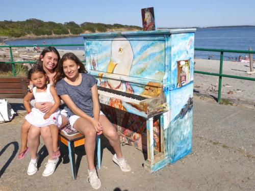 The Single Seagull Piano