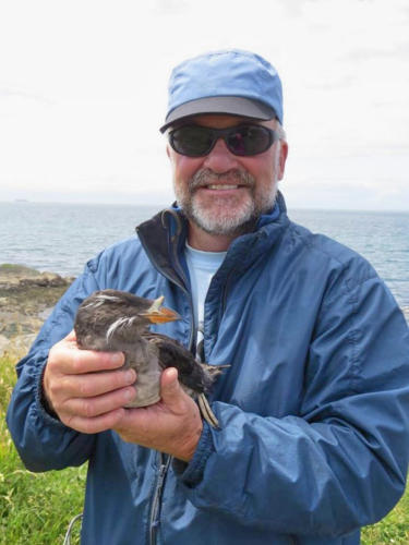 Jacques, naturalist, birdwatcher and sanctuary crusader