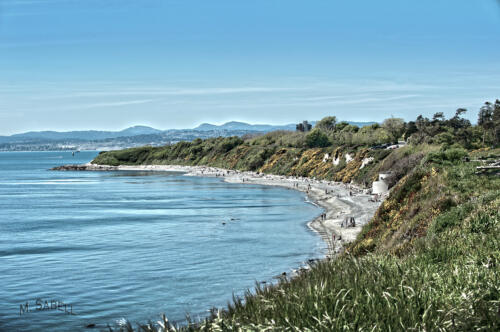 Finlayson Point, looking west