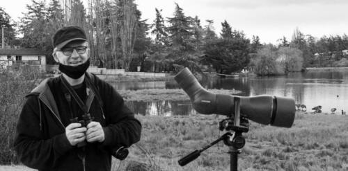 Jody, birdwatcher